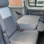 Mobility Nationwide | Used Wheelchair Accessible Vehicles | VW caddy Maxi 2 seats folded