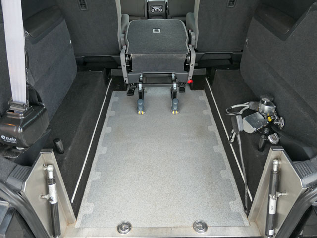 Mobility Nationwide | Used Wheelchair Accessible Vehicles | SEAT Alhambra wheelchair location