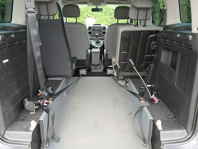 Mobility Nationwide | Used Wheelchair Accessible Vehicles | Citroen Berlingo wheelchair location