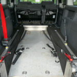 Mobility Nationwide | Used Wheelchair Accessible Vehicles | VW caddy Maxi wheelchair location seats tilted
