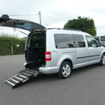 Mobility Nationwide | Used Wheelchair Accessible Vehicles | VW Caddy Maxi side ramp