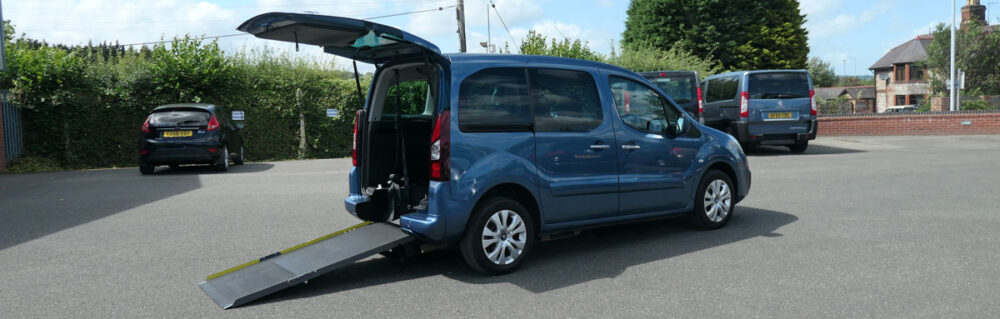 Mobility Nationwide | Used Wheelchair Accessible Vehicles | Berlingo Vehicle To Take Wheelchair