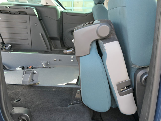 Mobility Nationwide | Used Wheelchair Accessible Vehicles | Berlingo ramp folded