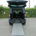 Mobility Nationwide   Used Wheelchair Accessible Vehicles   Berlingo ramp to back