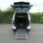 Mobility Nationwide | Used Wheelchair Accessible Vehicles | VW Caddy Maxi ramp to back