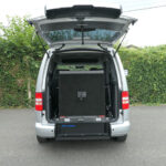 Mobility Nationwide | Used Wheelchair Accessible Vehicles | VW Caddy Maxi ramp stowed