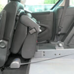 Mobility Nationwide   Used Wheelchair Accessible Vehicles   Berlingo rear seat folded