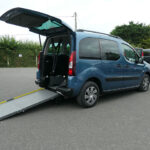 Mobility Nationwide   Used Wheelchair Accessible Vehicles   Berlingo side ramp
