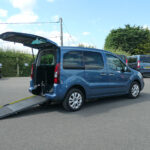 Mobility Nationwide | Used Wheelchair Accessible Vehicles | Berlingo side view ramp