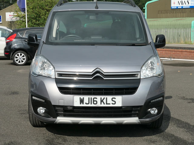 Mobility Nationwide   Used Wheelchair Accessible Vehicles   Berlingo front