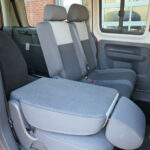 Mobility Nationwide   Used Wheelchair Accessible Vehicles   VW Caddy Maxi rear seat folded