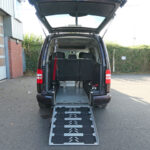 Mobility Nationwide   Used Wheelchair Accessible Vehicles   VW Caddy Maxi ramp to back