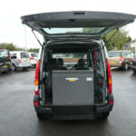 Mobility Nationwide   Used Wheelchair Accessible Vehicles   Renault Kangoo ramp stowed