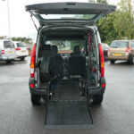Mobility Nationwide   Used Wheelchair Accessible Vehicles   Renault Kangoo ramp to back
