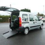Mobility Nationwide   Used Wheelchair Accessible Vehicles   Renault Kangoo side ramp