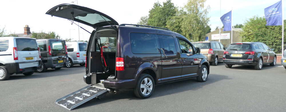 Mobility Nationwide   Used Wheelchair Accessible Vehicles   VW Caddy Maxi Vehicle To Take Wheelchair