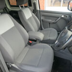 Mobility Nationwide   Used Wheelchair Accessible Vehicles   VW Caddy Maxi front seats