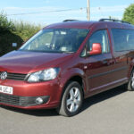Mobility Nationwide   Used Wheelchair Accessible Vehicles   VW Caddy Maxi front side