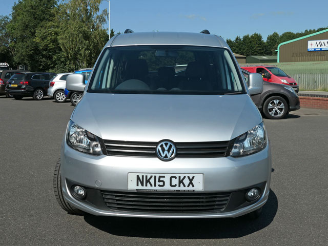 Mobility Nationwide | Used Wheelchair Accessible Vehicles | VW Caddy Maxi front