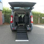 Mobility Nationwide | Used Wheelchair Accessible Vehicles | Peugeot Expert ramp to back