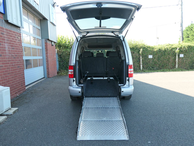 Mobility Nationwide   Used Wheelchair Accessible Vehicles   VW Caddy Maxi ramp