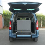 Mobility Nationwide | Used Wheelchair Accessible Vehicles | Citroen Berlingo ramp stowed