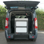Mobility Nationwide | Used Wheelchair Accessible Vehicles | Peugeot Expert ramp stowed