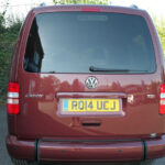Mobility Nationwide   Used Wheelchair Accessible Vehicles   VW Caddy Maxi rear
