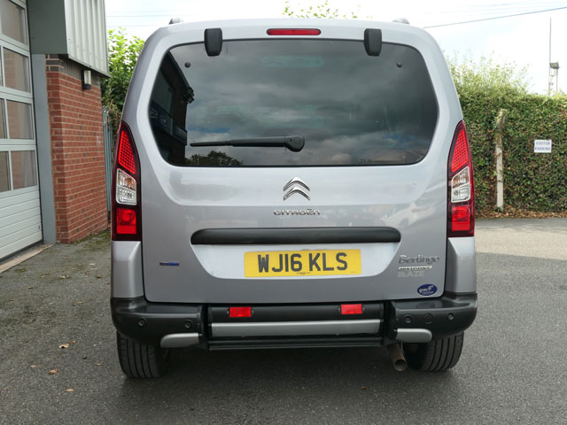Mobility Nationwide | Used Wheelchair Accessible Vehicles | Berlingo rear