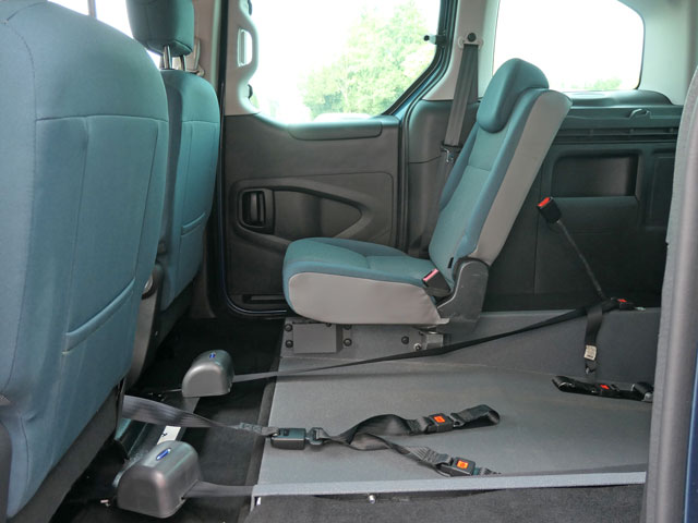 Mobility Nationwide | Used Wheelchair Accessible Vehicles | Citroen Berlingo rear seat