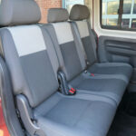 Mobility Nationwide   Used Wheelchair Accessible Vehicles   VW Caddy Maxi rear seats