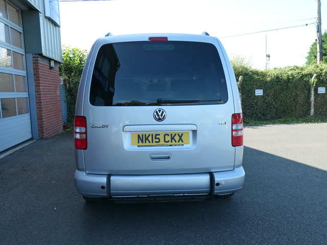 Mobility Nationwide | Used Wheelchair Accessible Vehicles | VW Caddy Maxi rear