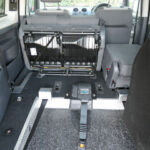 Mobility Nationwide   Used Wheelchair Accessible Vehicles   VW Caddy Maxi seats tilted