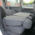 Mobility Nationwide | Used Wheelchair Accessible Vehicles | VW Caddy rear seats down