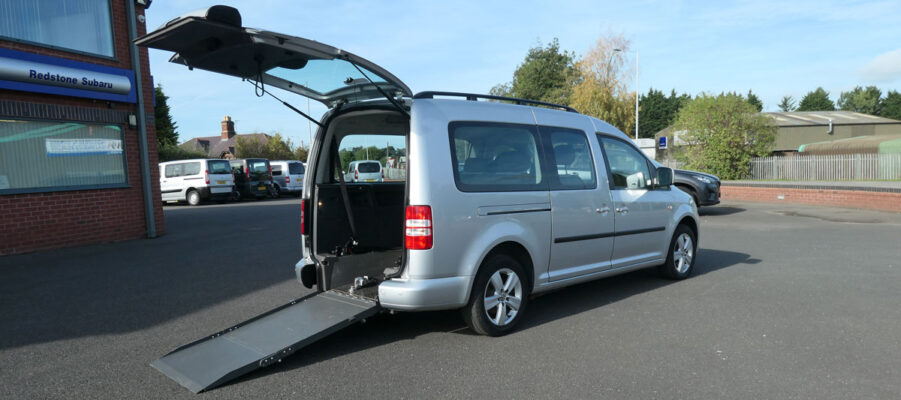 Mobility Nationwide | Used Wheelchair Accessible Vehicles | VW Caddy Car To Take Wheelchair