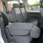 Mobility Nationwide | Used Wheelchair Accessible Vehicles | VW Caddy rear seat folded