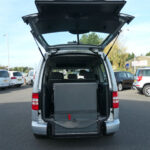 Mobility Nationwide | Used Wheelchair Accessible Vehicles | VW Caddy ramp stowed