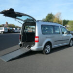 Mobility Nationwide | Used Wheelchair Accessible Vehicles | VW Caddy rear side