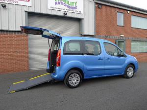 Wheelchair accessible Citroen Berlingo