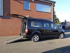 Wheelchair accessible Volkswagen Caddy