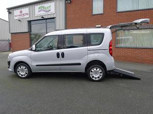 Wheelchair accessible Fiat Doblo