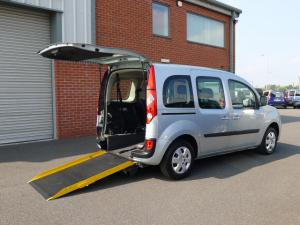 Wheelchair accessible Renault Kangoo