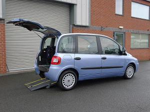 Wheelchair accessible Fiat Multipla