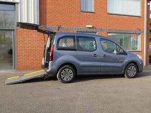 Wheelchair accessible Peugeot Partner