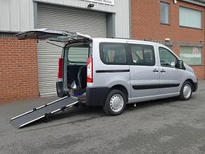 Wheelchair accessible Peugeot Expert