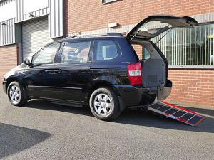 Wheelchair accessible Kia Sedona